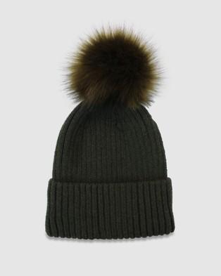 Morgan & Taylor Valentine Beanie - Headwear (Khaki)