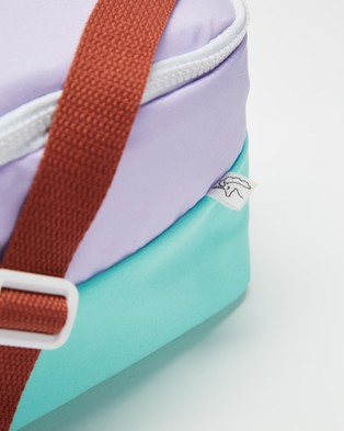 Cotton On Kids Lunch Bag   Kids - Home (Pale Violet & Blue)