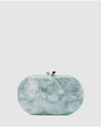 Olga Berg - Quartz Oval Clutch