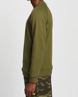 Virus Fleece VP Crew Neck Sweater   Unisex - Sweats (Green)