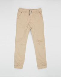 Cotton On Kids - Logan Cuffed Pants - Kids-Teens
