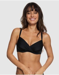 Roxy - Womens Beach Basic D-Cup Bra Separate Bikini Top