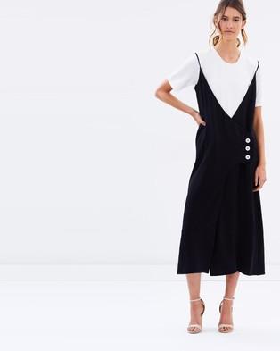 Christopher Esber – Connective Inner Tee Wrap Dress