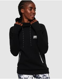 Superdry - Superdry Core Gym Tech Slouch Hoodie