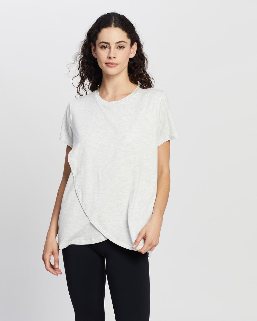 Cotton On Body - Sleep Recovery Maternity T Shirt - T-Shirts & Singlets (Soft Grey Marle) Sleep Recovery Maternity T-Shirt