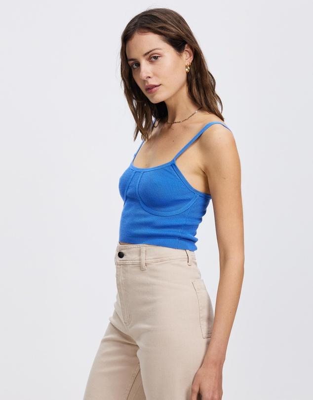 Women Knit Crop Co-Ord
