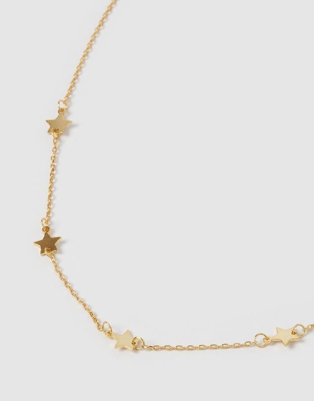 Women Starlight Choker Necklace