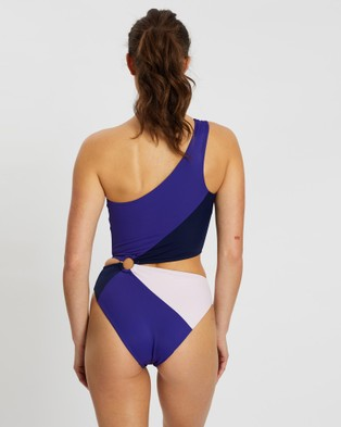 Horizon April 06:40 One Piece - One-Piece / Swimsuit (Blue Purple)