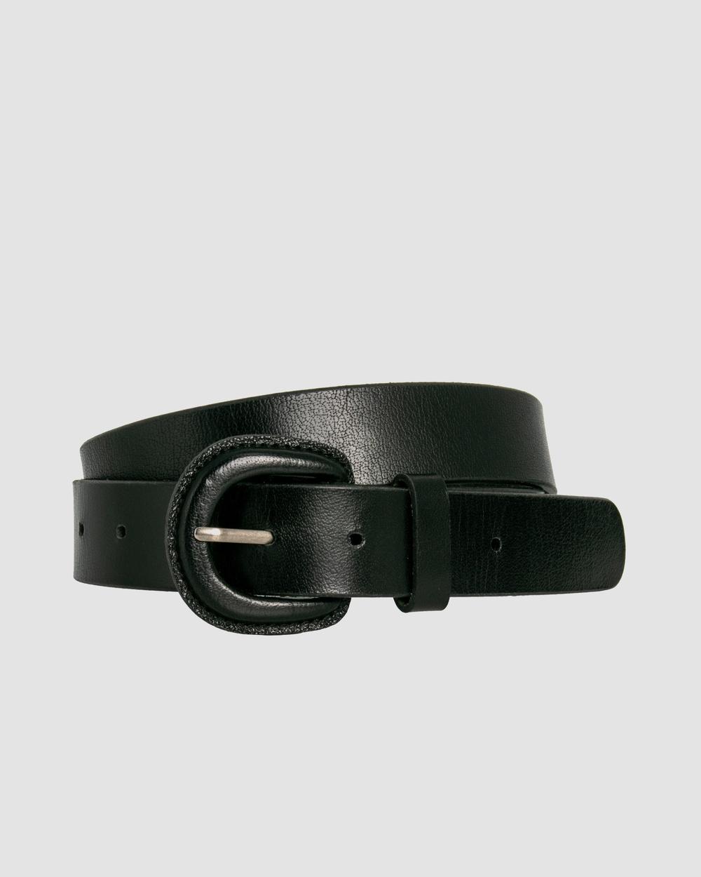 Loop Leather Co Kelly Belts Black