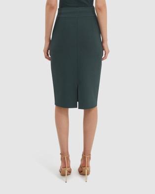 SABA Amara Milano Skirt - Skirts (green)