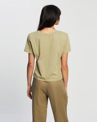 SOVERE - Asert Tee - T-Shirts & Singlets (Moss) Asert Tee