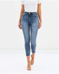 Atmos&Here - ICONIC EXCLUSIVE - Devina High Waist Skinny Jeans