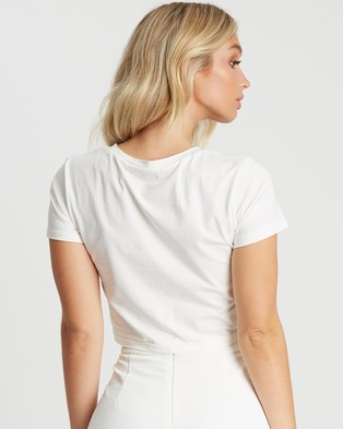 BWLDR Claudia Top - Cropped tops (White)
