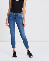 Cotton On - Mid-Rise Grazer Skinny Jeans