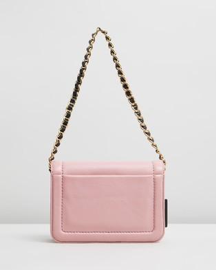 The Marc Jacobs The Mini Cushion Bag - Handbags (Pink Rose)