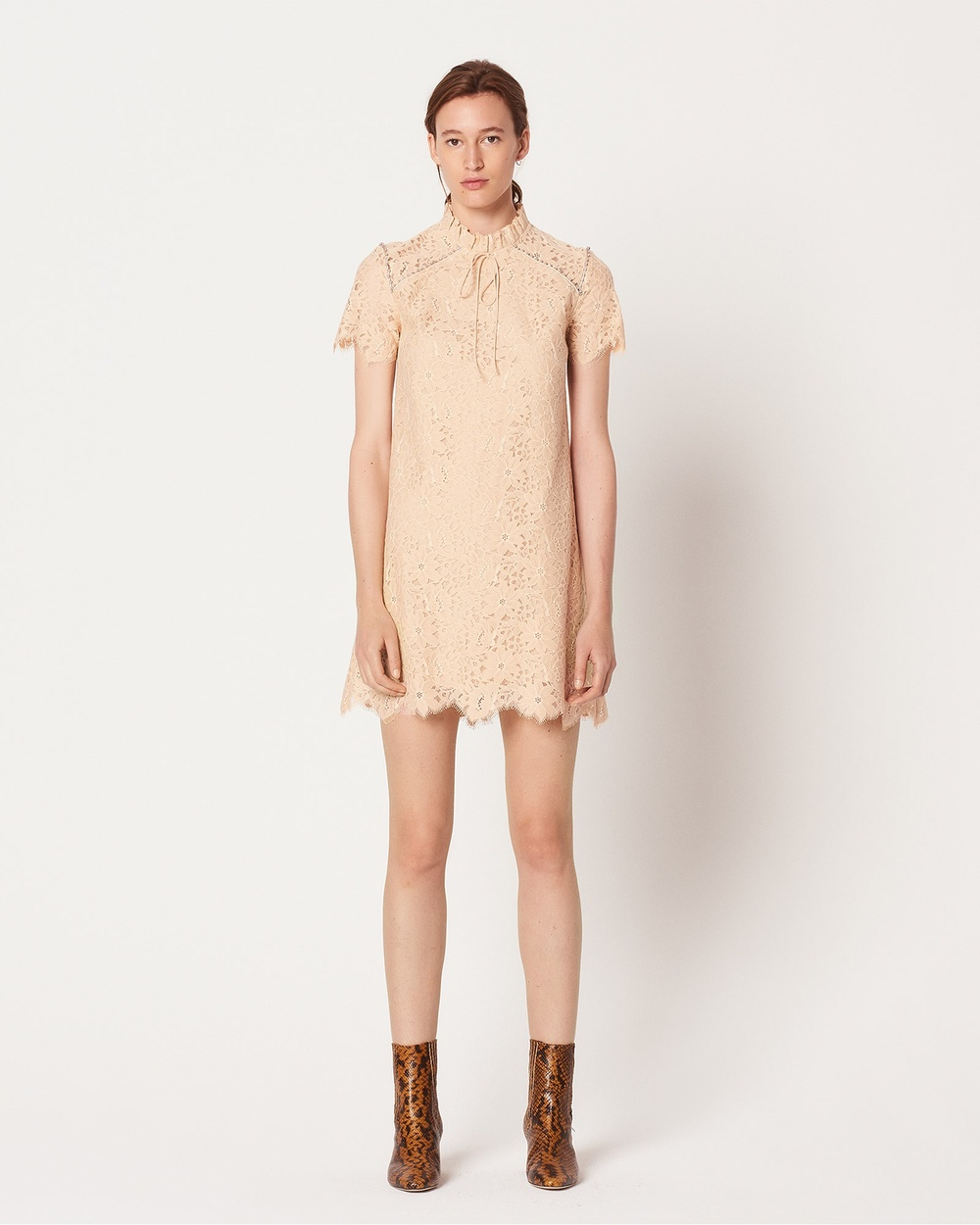Sandro Antilope Dress Dresses Neutrals Antilope Dress