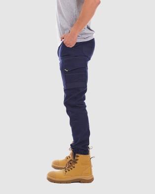 TRADIE Tradie Cuff Cargo Pants - Cargo Pants (NAVY1 - MJ3351SE)