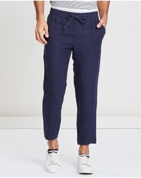 Double Oak Mills - Linen Pull On Pants