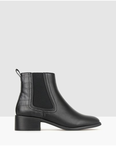 Betts - Destiny Block Heel Chelsea Boots
