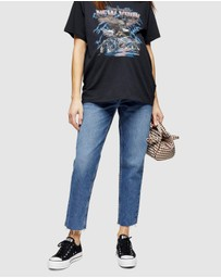 TOPSHOP Maternity - Over Bump Straight Jeans