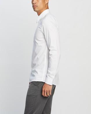 HUGO Elwood Shirt - Shirts & Polos (199 Open White)