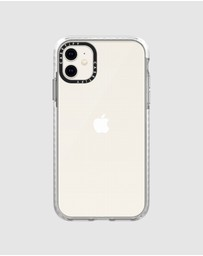 Casetify - Impact Protective Clear Case for iPhone 11 – Frost