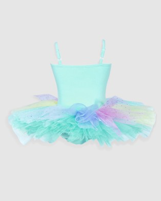Pink Poppy Ballerina Bouquet Tutu - Dresses (Green)