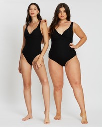 St. Swim - Paros Twist Front One-Piece