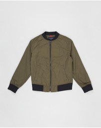 Academy Boys - Essential Bomber Jacket - Teens
