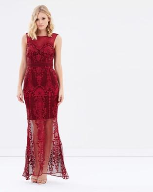 Grace & Hart – Regal Beauty Gown – Bridesmaid Dresses Wine