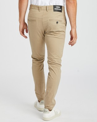 Dr Denim Heywood Chino - Pants (Khaki)