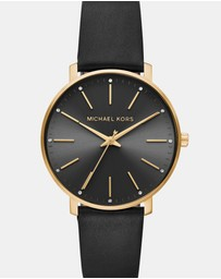 Michael Kors - Pyper Black Analogue Watch