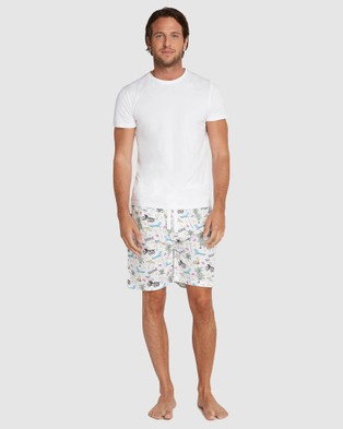 Sant And Abel Palm Springs Sleep Shorts - Underwear & Socks (Multi)