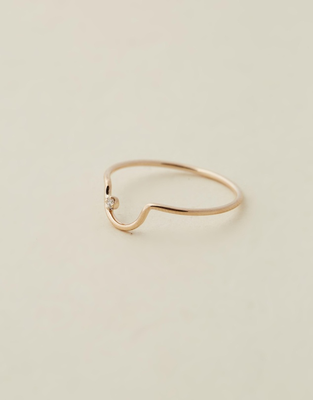 Women Arc Lineage Ring