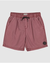 Billabong - All Day Overdye Layback Boardshorts - Kids