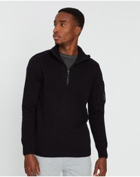 C.P. Company - Three-Quarter Zip Knit