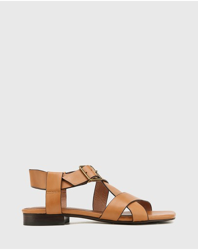 Wittner - Aneese Leather Flat Sandals