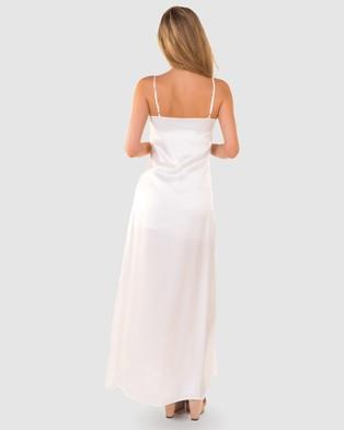 RH Swimwear Splits Maxi Dress - Dresses (White)