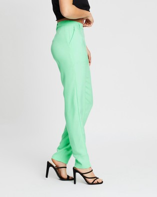 Missguided Co Ord Cigarette Trousers - Pants (Mint)