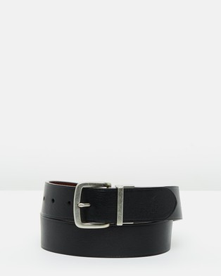 Polo Ralph Lauren Casual Reversible Belt - Belts (Black & Brown)