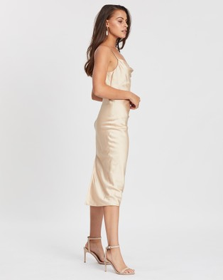 Miss Holly Gigi Dress - Bridesmaid Dresses (Gold)