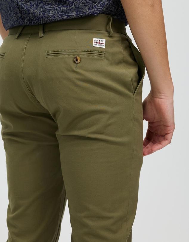 Men Slim Stretch Pants
