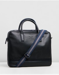 Ted Baker - Lowmee Leather Document Bag