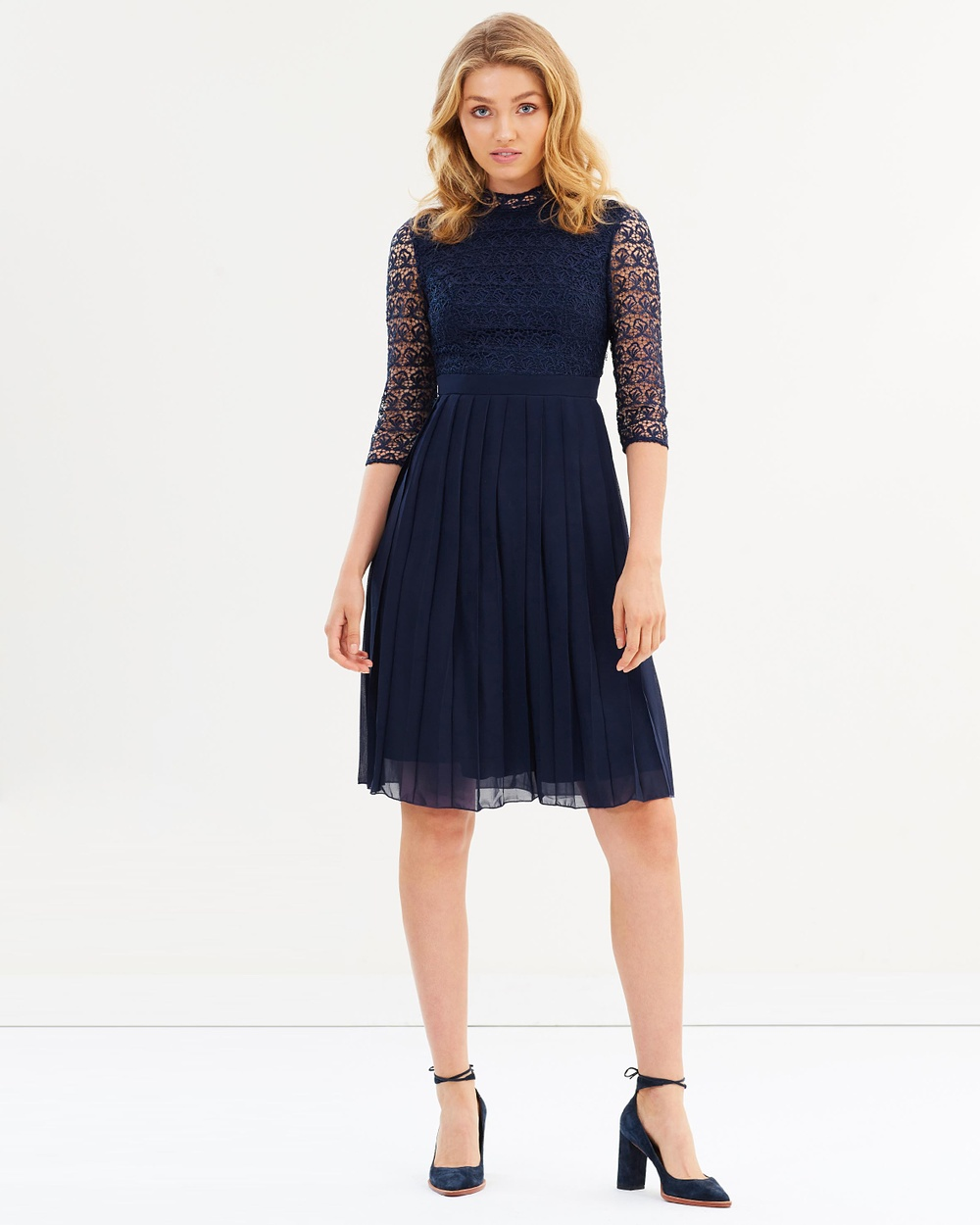 Chi Chi London Patrycja Dress Dresses Navy Patrycja Dress