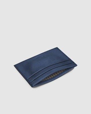 Aquila Archie Card Holder - Wallets (Navy)
