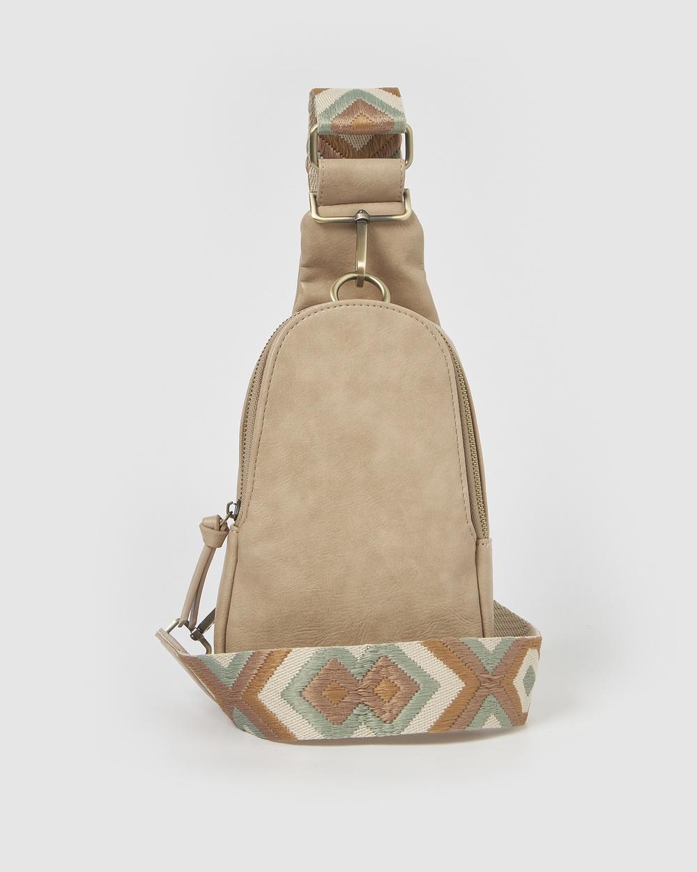 Urban Originals Liberty Backpacks Taupe