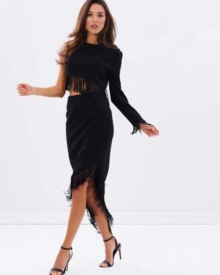 Misha Collection – Lana Dress – Dresses (Black)