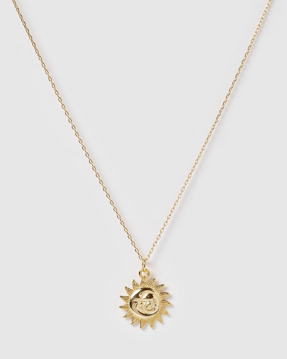 Izoa Sunshine Necklace Jewellery Gold