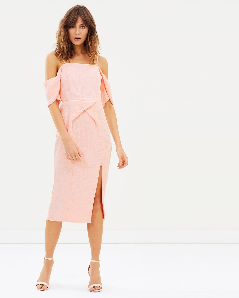 Elliatt Acacia Dress Dresses Peach Acacia Dress