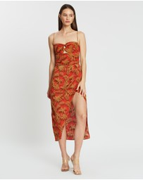 Bec + Bridge - Shady Palm Midi Dress
